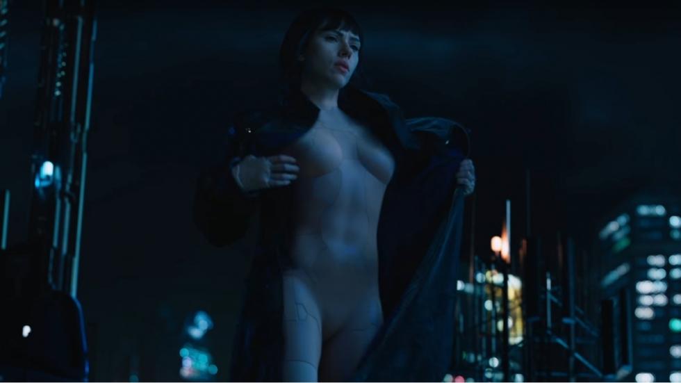 Eerste Super Bowl Spot: 'Ghost in the Shell' met Scarlett Johansson