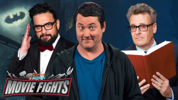 ScreenJunkies - Stoned fights: who should direct the batman? (w/ doug benson, greg proops and horatio sanz)