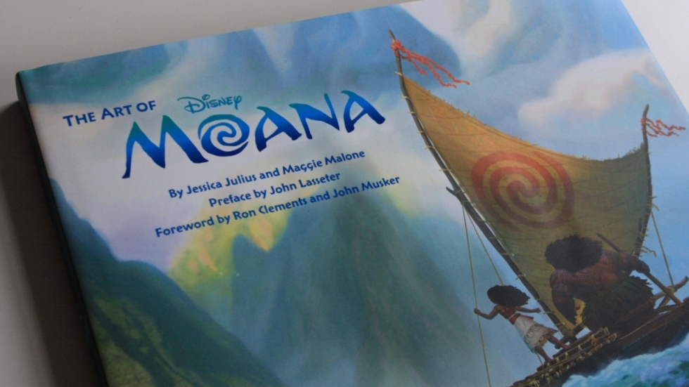 Fraai boek - The Art of Moana