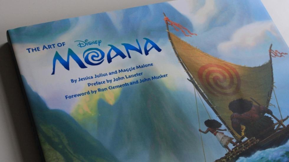 Fraai boek - The Art of Moana