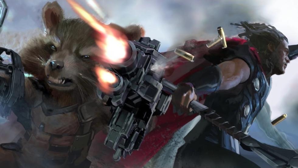 Eerste teaservideo & concept art 'Avengers: Infinity War'