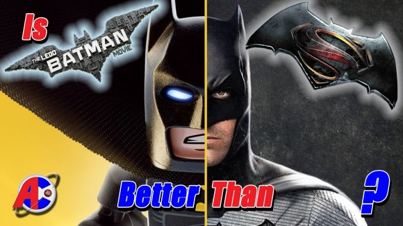 Channel Awesome - Is the lego batman movie better than batman v superman? - awesome comics
