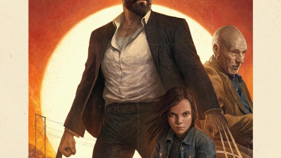 Old School IMAX-poster 'Logan' en reeks strijdbare spots