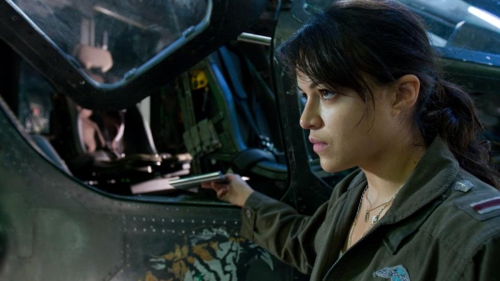 Michelle Rodriguez ook te zien in 'Alita: Battle Angel'