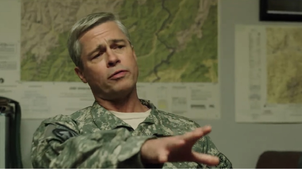 Trailer Netflix' 'War Machine' met Brad Pitt