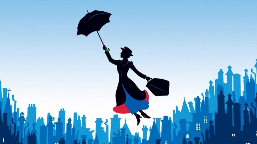 Eerste foto Emily Blunt in 'Mary Poppins' reboot