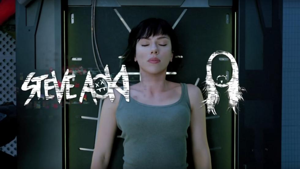Luister naar Steve Aoki's remix van themanummer 'Ghost in the Shell'