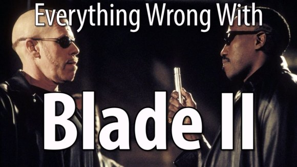 CinemaSins - Everything wrong with blade ii in 12 minutes or less