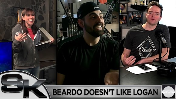 Schmoes Knows - Beardo doesn't like logan (behind-the-scenes)
