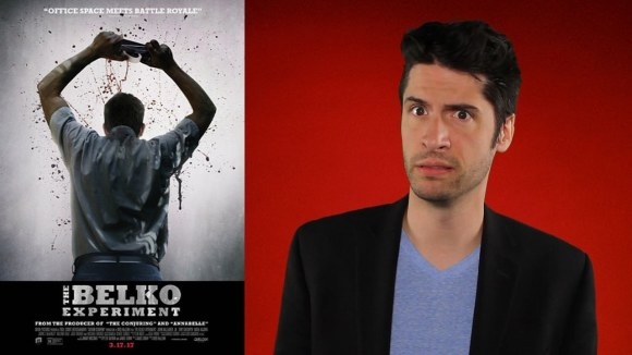 Jeremy Jahns - The belko experiment - movie review