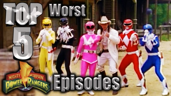 Channel Awesome - Top 5 worst mighty morphin power rangers episodes