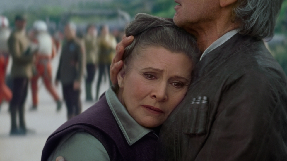 Carrie Fishers rol in 'Star Wars: The Last Jedi' blijft ongewijzigd