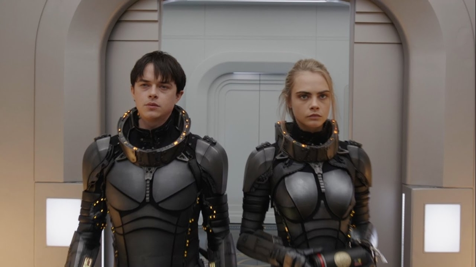 Nieuwe poster Luc Bessons 'Valerian and the City of a Thousand Planets'