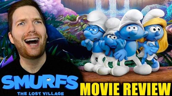 Chris Stuckmann - Smurfs: the lost village - movie review