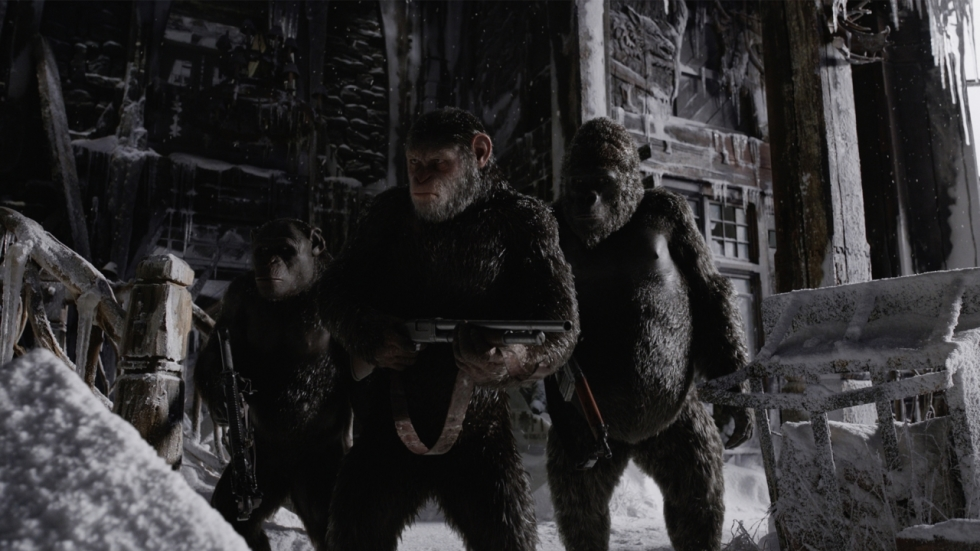Spannende teaser 'War for the Planet of the Apes'