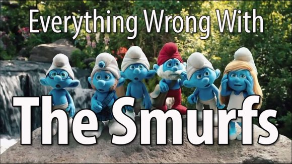CinemaSins - Everything wrong with the smurfs in 16 minutes or less