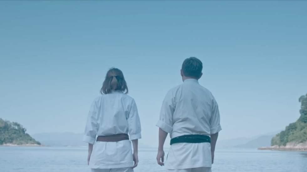 Keihard knokken met karate in trailer 'The Empty Hand'
