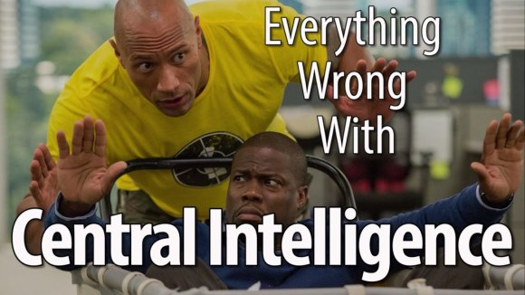 CinemaSins - Everything wrong with central intelligence in 17 minutes or less