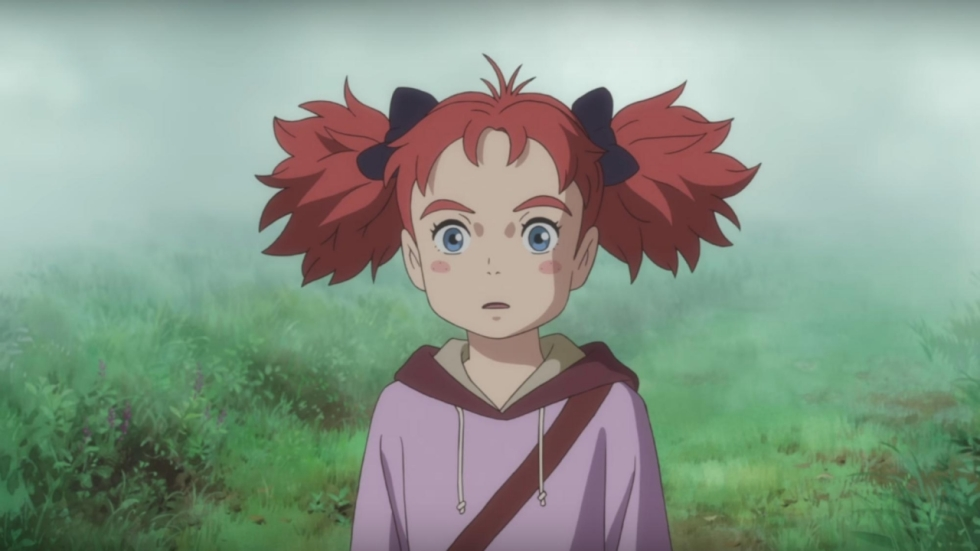 Twee trailers van fantastische nieuwe semi-Ghibli 'Mary and the Witch's Flower'