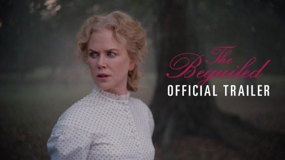 Kidman en Dunst terroriseren Farrell in trailer 'The Beguiled'