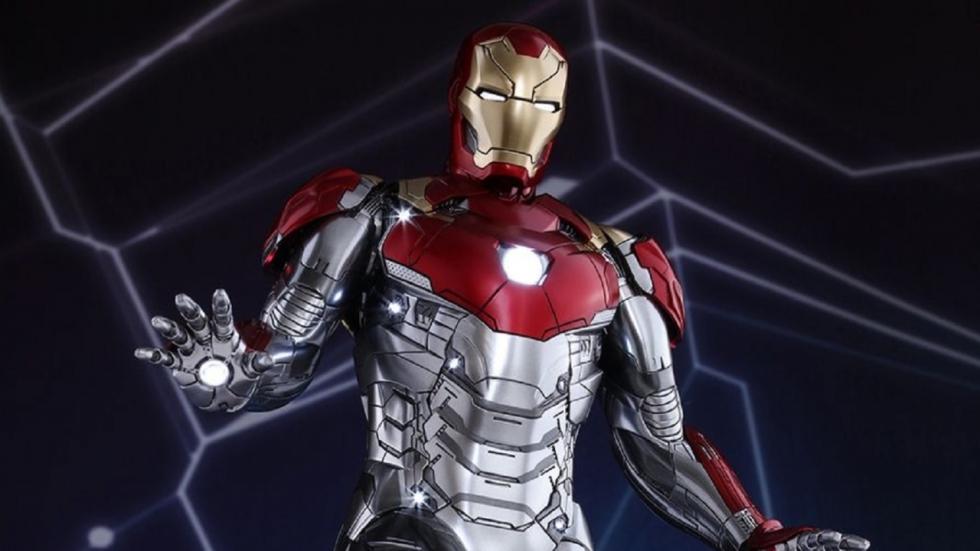 Duidelijke blik op Iron Mans Mark XLVII in 'Spider-Man: Homecoming'