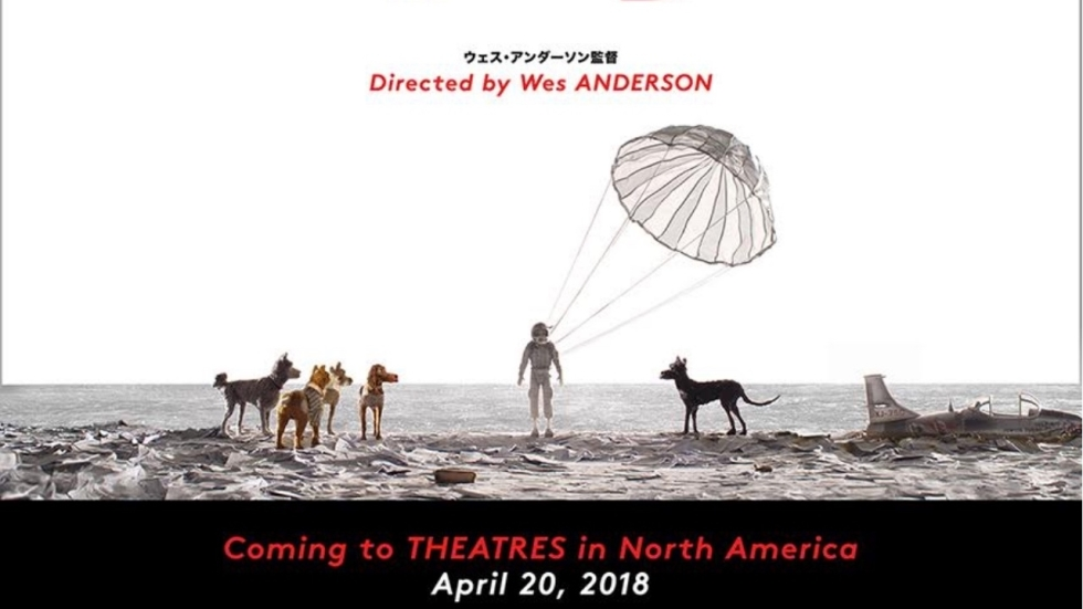 Intrigerende poster nieuwe Wes Anderson-film 'Isle of Dogs'