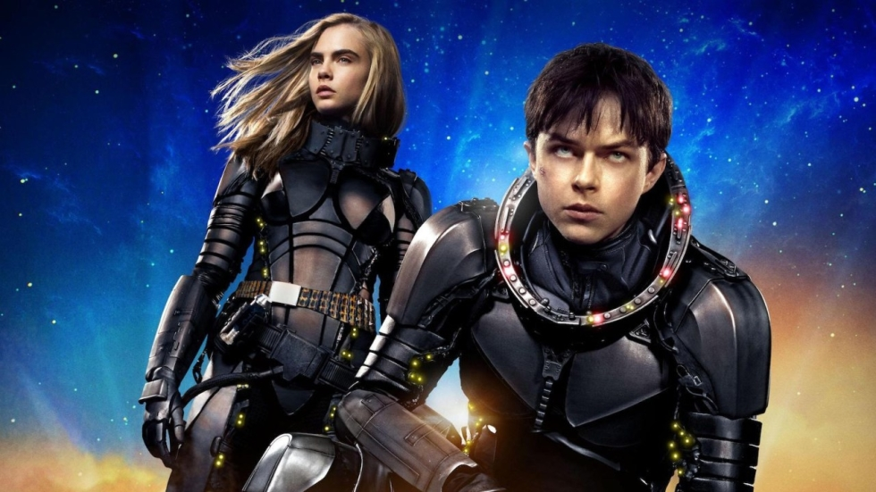 Aliens en Rihanna op nieuwe poster 'Valerian and the City of a Thousand Planets'