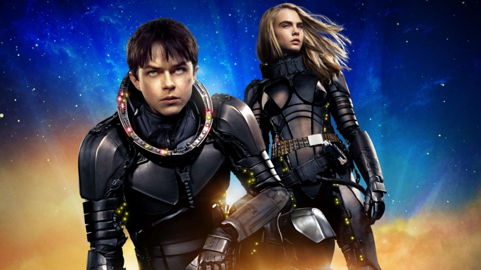Acht posters 'Valerian and the City of a Thousand Planets' onthullen aliens en robots