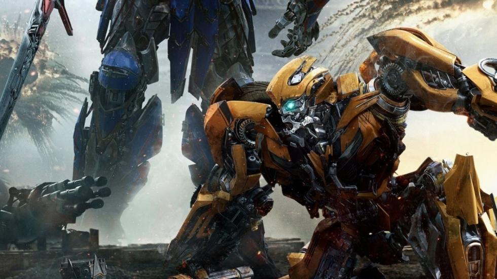 Optimus Prime vs Bumblebee op nieuwe poster 'Transformers 5'