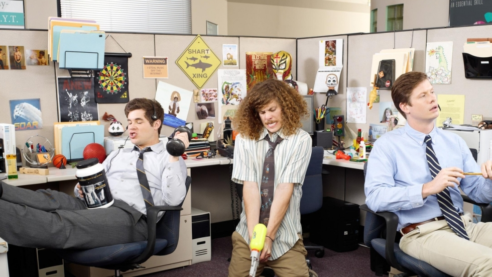 'Workaholics'-crew in teaser Netflix actiekomedie 'Game Over, Man!'