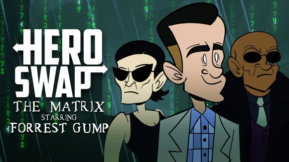 How It Should Have Ended - The matrix starring forrest gump - hero swap