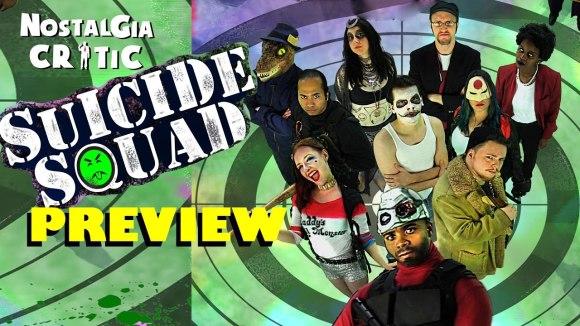 Channel Awesome - Nostalgia critic suicide squad trailer