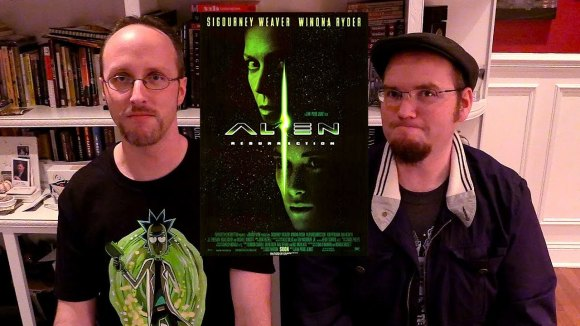 Channel Awesome - Nostalgia critic real thoughts on - alien resurrection