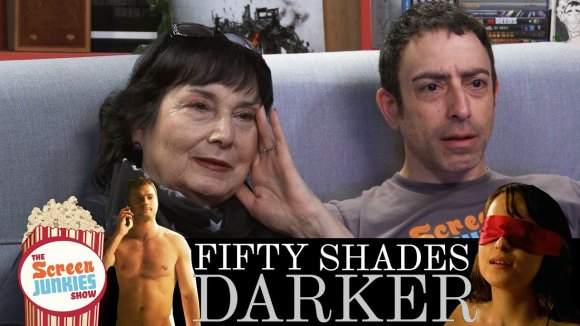ScreenJunkies - Watching fifty shades darker with my mom!