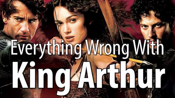 CinemaSins - Everything wrong with king arthur (2004) in 17 minutes or less