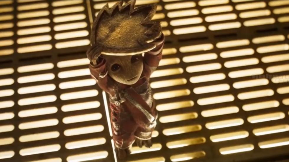 Details over Deadpool en Baby Groot in 'Guardians of the Galaxy Vol. 2'