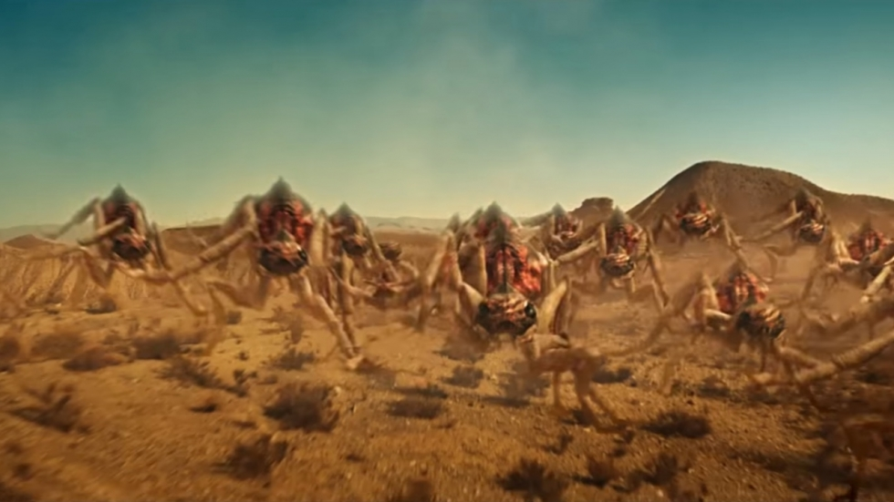 Enorme mieren in trailer 'It Came From the Desert' geven je de kriebels!