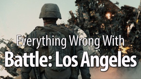 CinemaSins - Everything wrong with battle los angeles in 18 minutes or less