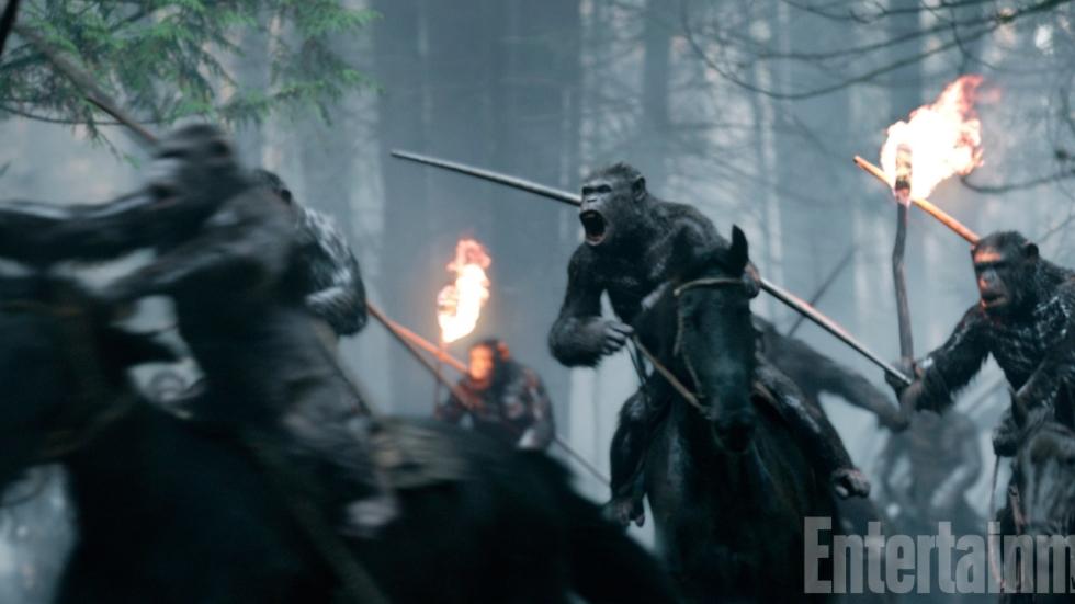 Nieuwe 'Apes'-film rondt verhaal Caesar af