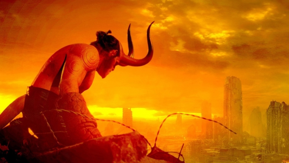 Eerste poster 'Hellboy: Rise of the Blood Queen'