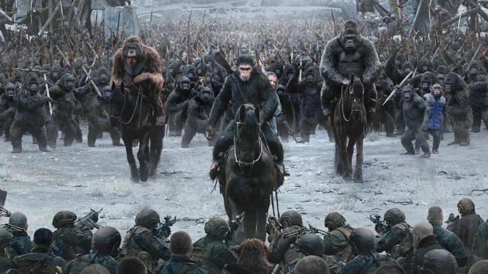 Nog veel meer 'Planet of the Apes'-films op komst