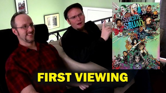 Channel Awesome - Suicide squad - 1st viewing