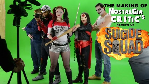 Channel Awesome - Suicide squad - making of nostalgia critic