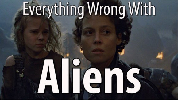 CinemaSins - Everything wrong with aliens in 15 minutes or less