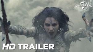 The Mummy (2017) video/trailer