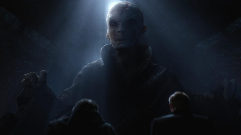 Luke v Snoke in 'Star Wars: The Last Jedi'?