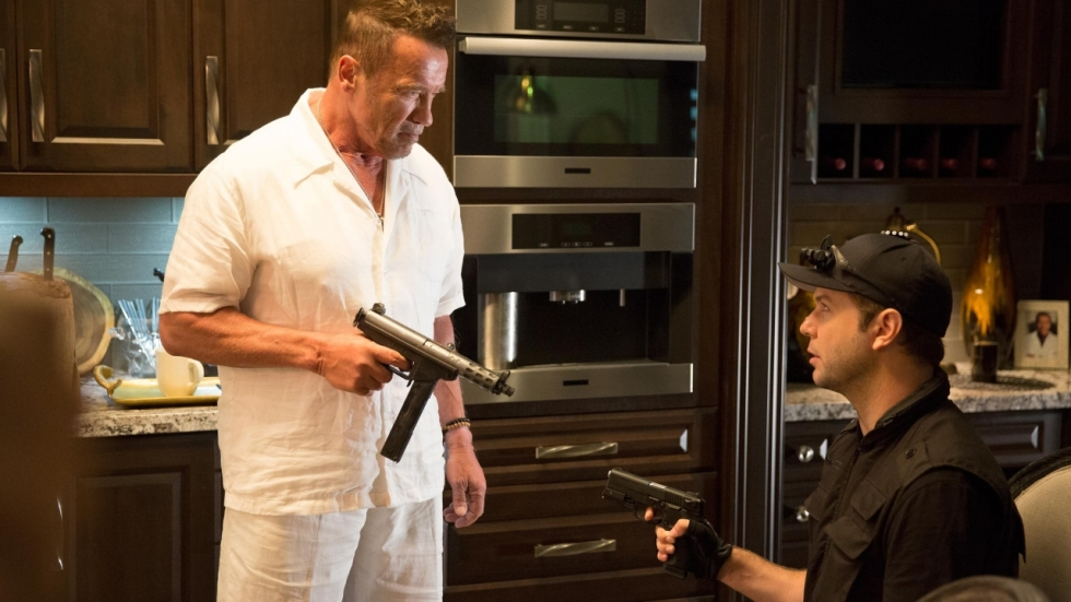 Dodelijke Schwarzenegger op eerste foto 'Why We're Killing Gunther'