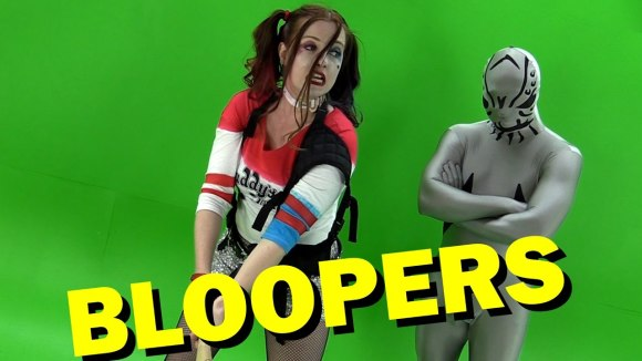 Channel Awesome - Suicide squad review bloopers