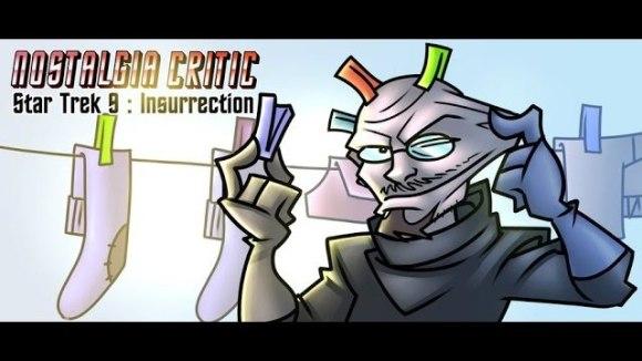 Channel Awesome - Star trek ix: insurrection - nostalgia critic