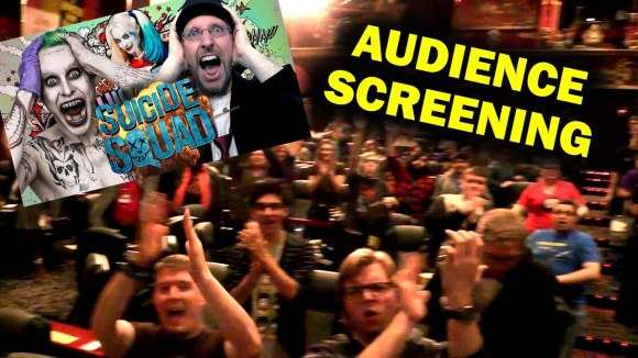 Channel Awesome - Audience screening - nostalgia critic review of suicide squad